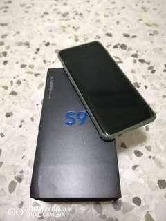 SAMSUNG S9 64GB BLACK