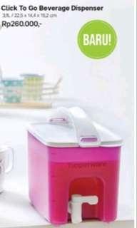 CTG dispenser tupperware