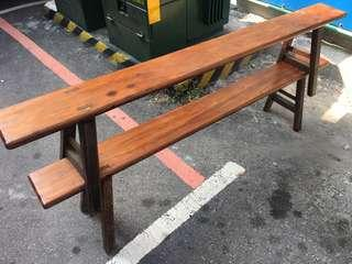 檜木長椅 超長182公分
