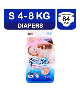Mamypoko Diapers Airfit S size tape 84's