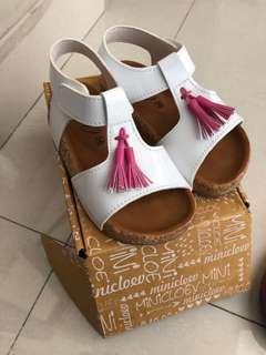 NEW! Sendal sepatu putih anak tassel