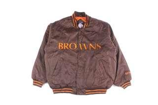 Classic Satin Cleveland Browns Jacket