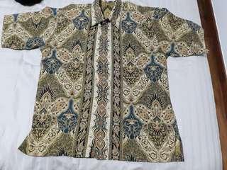 New Batik Shirt fits M-L Ptp: 55cm