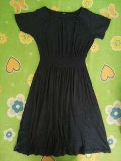 Navy Blue Uniqlo Dress