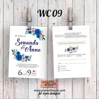 Wedding Card WC09