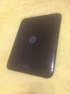 "Hp Tab 10"" stuck logo"