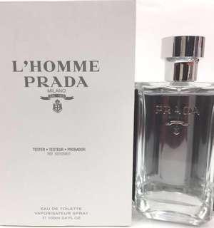 🚚 Prada Lhomme Tester Pack 100ml - Office Champion