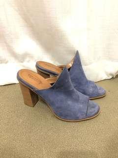 Italian leather heels - 39