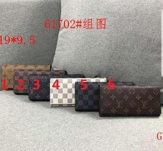 Pre-Order Unisex Long Folding Wallets