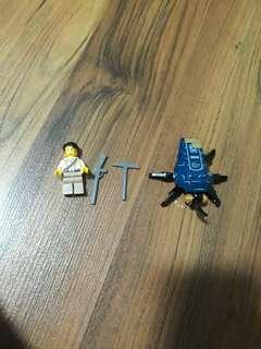 Lego Pharoah's Quest Beetle set