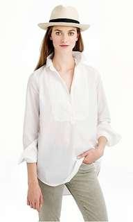 J. Crew bib popover shirt NEW with tag