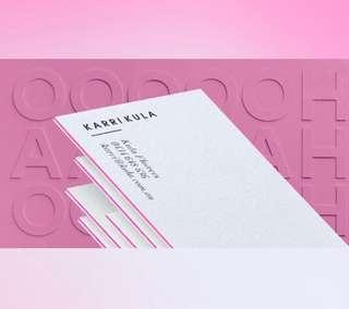 Premium Business Cards (Customized)