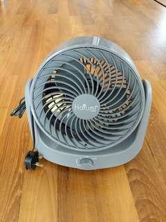 Harumi table portable fan