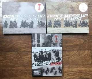 wts exo dmumt unsealed albums
