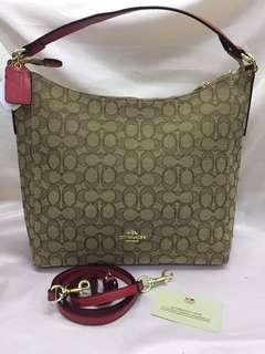 Coach tote bag with sling