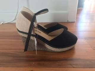 Brand new wedges size 7