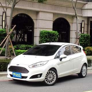 2015年 福特 FORD Fiesta  1.0T 運動型  正一手女用車 全車原漆原鈑件 渦輪增壓  變速系統
