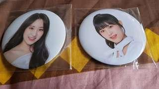 Iz*one Badge(From the ShowCon)