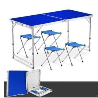 🚚 Outdoor aluminum folding tables booth/picnic camping table