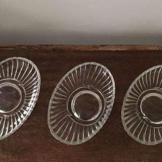 玻璃 肥皂盤 飾品收納