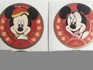 迪士尼貼紙🏰歷史款式✨新年米奇米妮 chinese new year mickey minnie