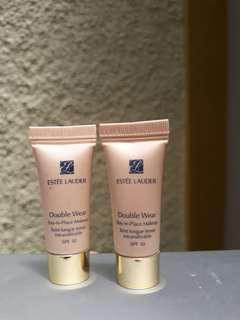 BUNDLING Estee lauder double wear foundi SAND