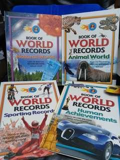 Book of World Records book set