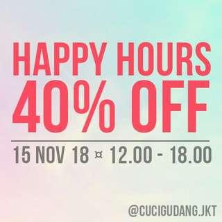 SALE 40% OFF - For All Products