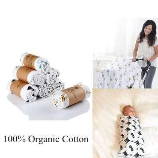 Restocked 100% Cotton Muslins Swaddle blanket for baby n kids