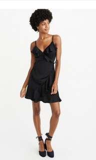 Abercrombie wrap around dress