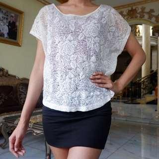 FOREVER 21 Lace Top Summer