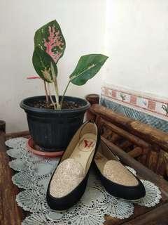 Flatshoes wanita bling bling