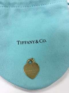 Tiffany & Co. Return To Tiffany Gold Heart Tag Pendant