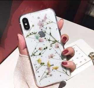 Pressed Flowers Iphone Cover