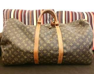 LOUIS VUITTON Keepall 60 Vintage Authentic