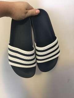 Adidas Adilette Blue Slides