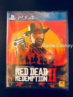 全新 PS4 Red Dead Redemption 2 行版 中英文版