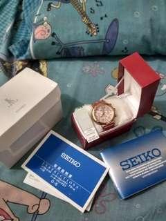 Jam tangan seiko limited edition pink