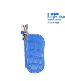 🚚 時尚牛皮鑰匙包 汽車鑰匙包 真皮男士女士鑰匙包