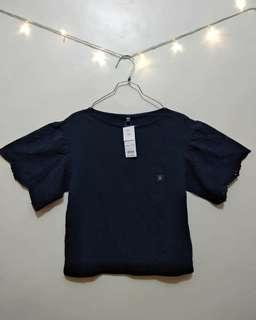 Blouse uniqlo navy