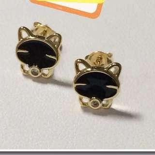 18K Japan Gold Earring