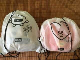 BT21 OFFICIAL CUSHION BUNDLE
