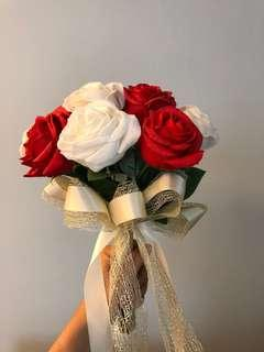Hand Bouquet Flowers