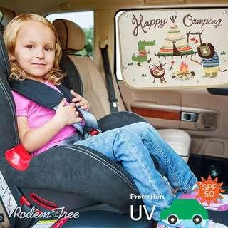 Children car curtain