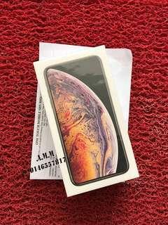 DUAL SIM IPXS MAX 256,GB GOLD(NEWSET)