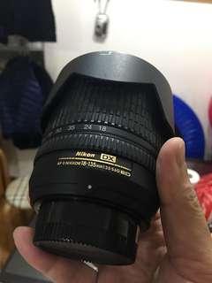 Nikon AF-S Nikkor 18-135mm 3.5-5.6G 鏡頭