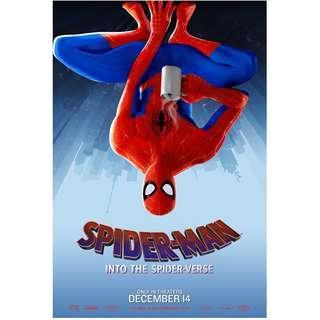 Spiderman into the spider verse movie poster
