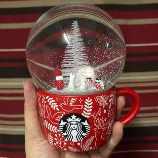 Starbucks Snow Globe