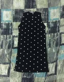 knitted polka dress