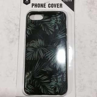 typo iphone 6/6S/7/8 tumblr plants phone case
